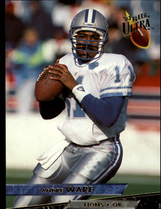 1993 Ultra #139 Andre Ware