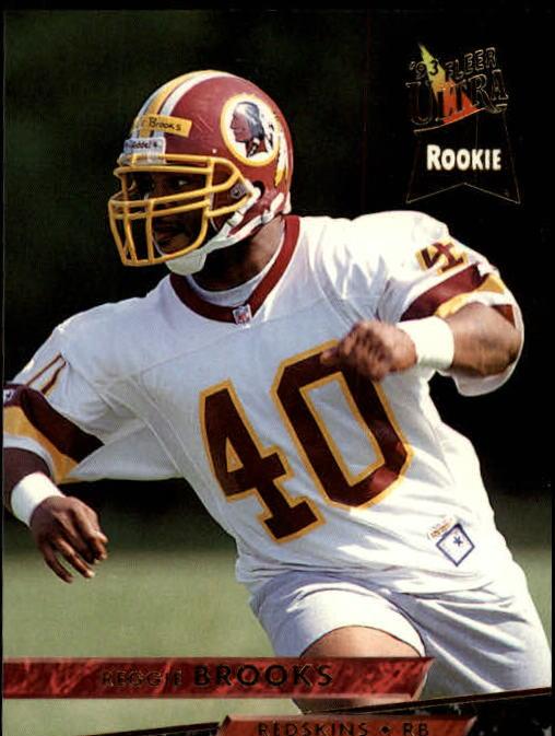 1993 Ultra #479 Reggie Brooks RC