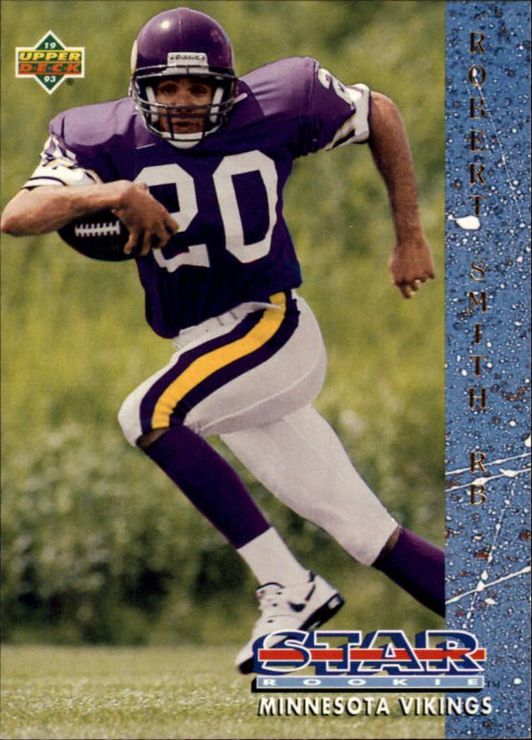 1993 Upper Deck #15 Robert Smith RC