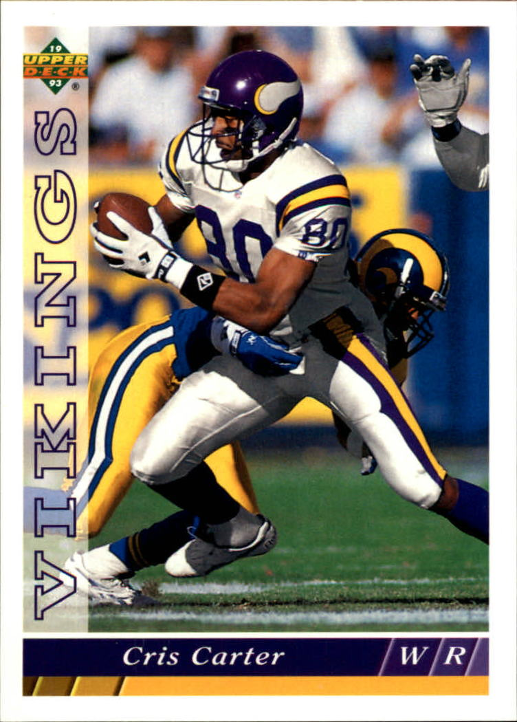 1993 Upper Deck #137 Cris Carter