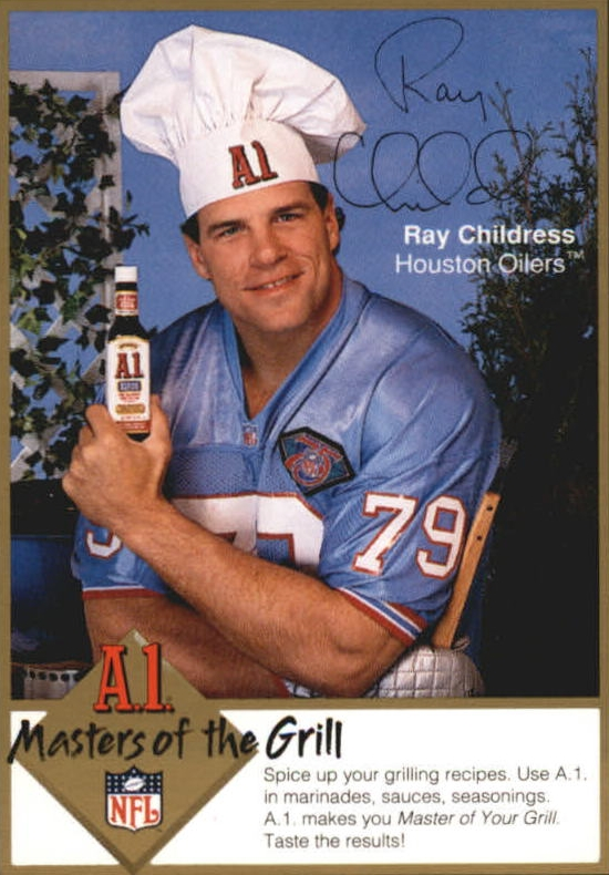 1994 A1 Masters of the Grill #3 Ray Childress