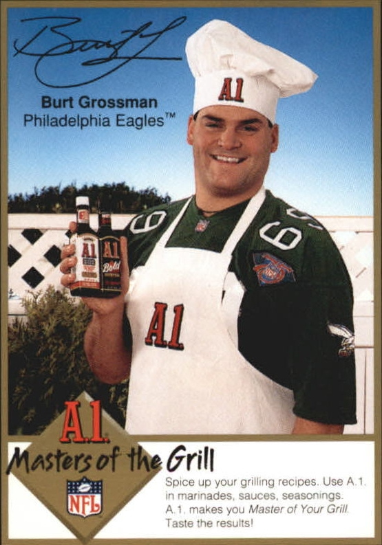 1994 A1 Masters of the Grill #7 Burt Grossman
