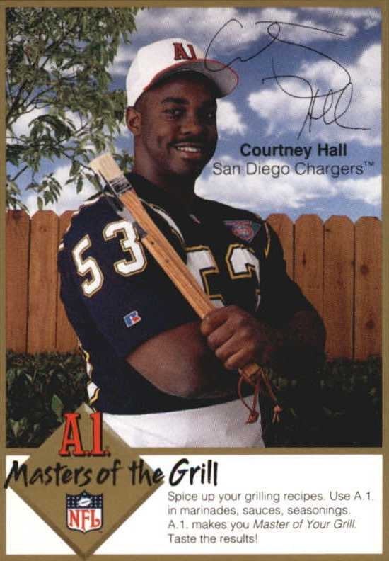 1994 A1 Masters of the Grill #8 Courtney Hall