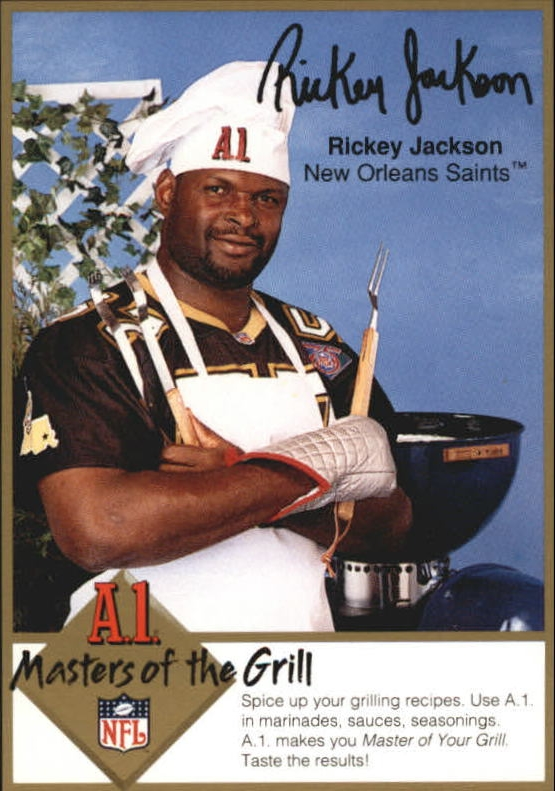 1994 A1 Masters of the Grill #13 Rickey Jackson