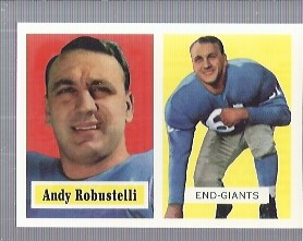 1994 Topps Archives 1957 #71 Andy Robustelli