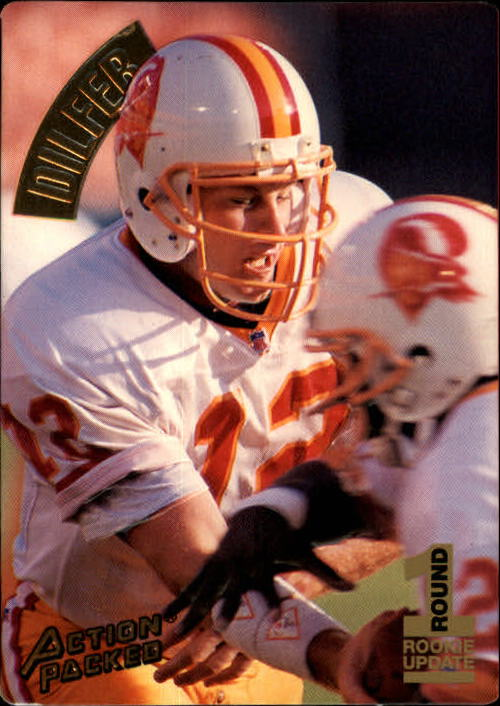 1994 Action Packed #126 Trent Dilfer RC