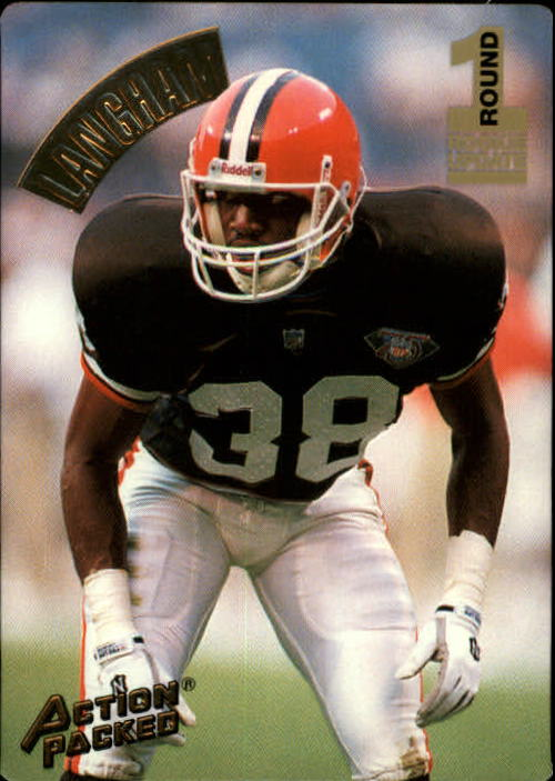 1994 Action Packed #129 Antonio Langham RC