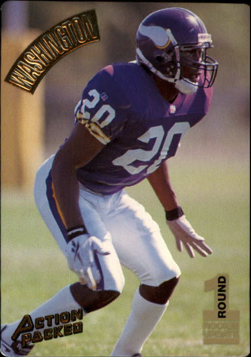 1994 Action Packed #137 Dewayne Washington RC