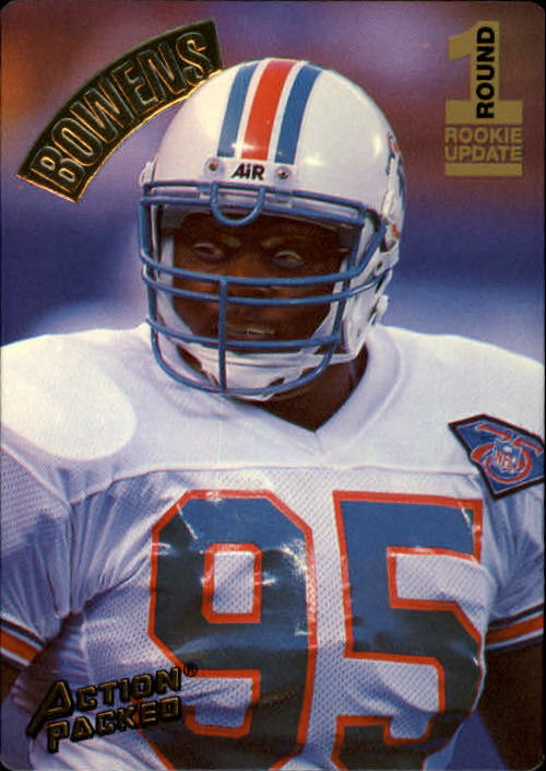 1994 Action Packed #139 Tim Bowens RC