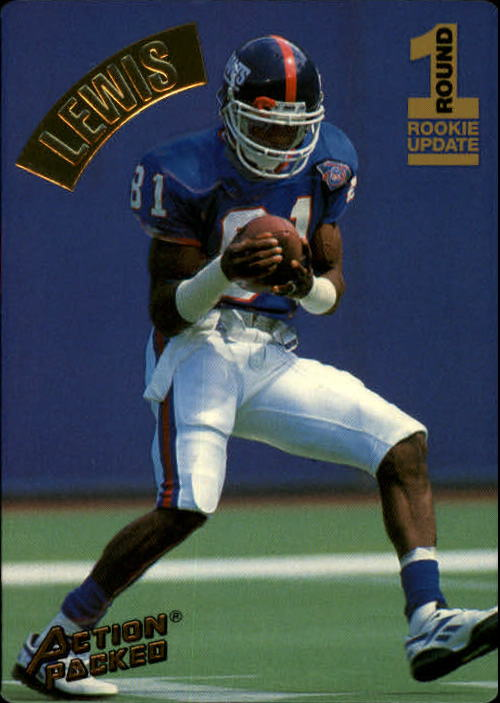 1994 Action Packed #143 Thomas Lewis RC