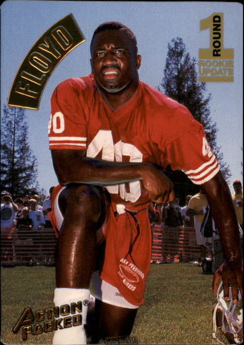 1994 Action Packed #147 William Floyd RC