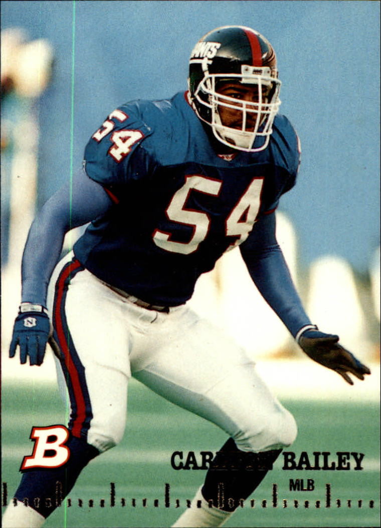 1994 Bowman #385 Carlton Bailey