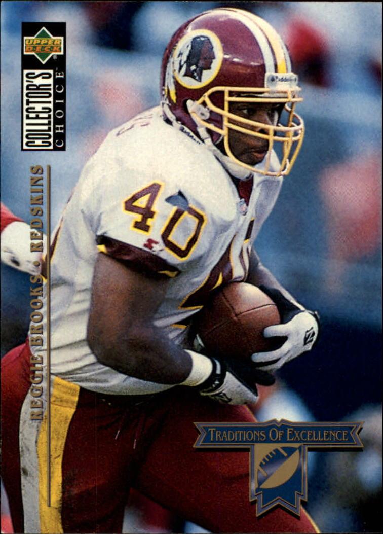 1994 Collector's Choice #48 Reggie Brooks TE