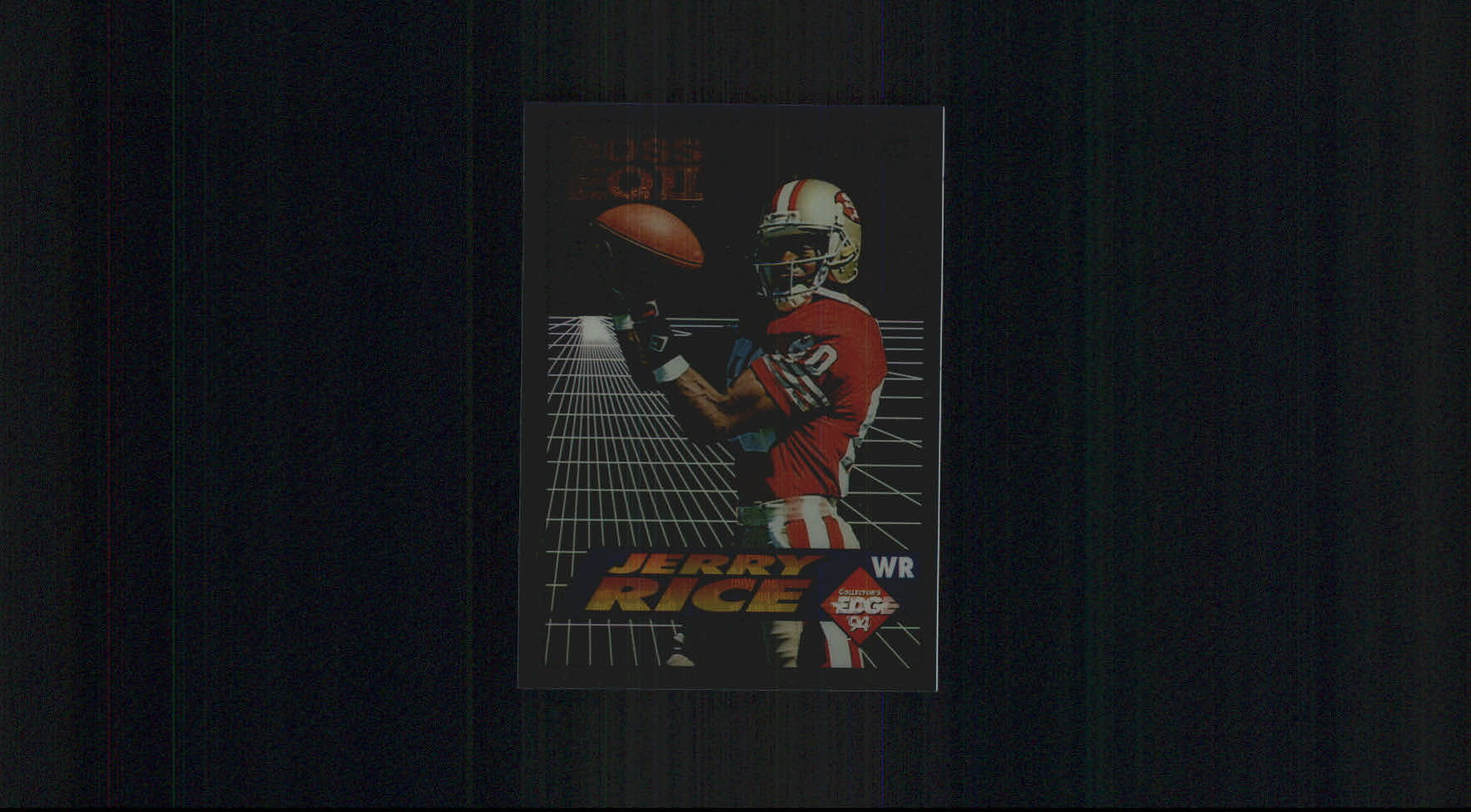 1994 Collector's Edge Boss Squad Bronze EQII #22 Jerry Rice