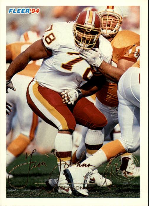 1994 Fleer #468 Tim Johnson