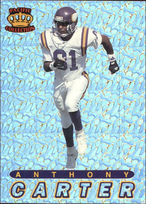 1994 Pacific Prisms #20 Anthony Carter