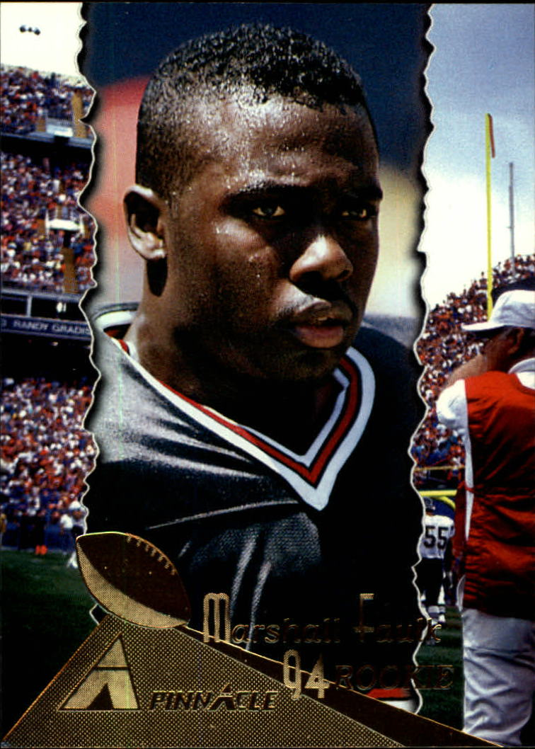 Details About 1994 Pinnacle Football Card 198 Marshall Faulk Rc