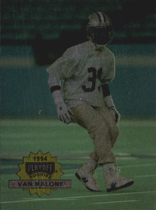 1994 Playoff #302 Van Malone RC