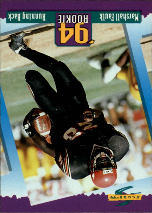 1994 Score #277 Marshall Faulk RC