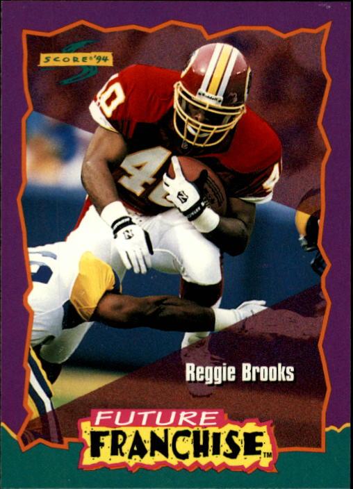 1994 Score #325 Reggie Brooks FF