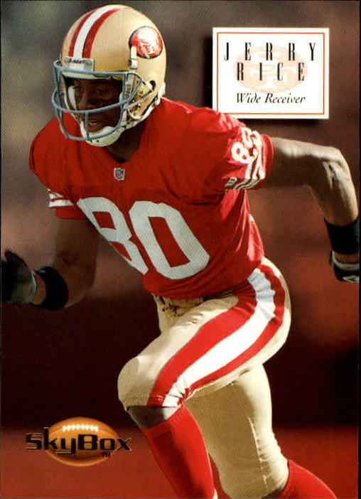 1994 SkyBox Premium #137 Jerry Rice