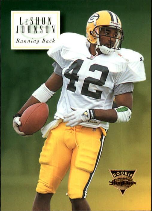 1994 SkyBox Premium #192 LeShon Johnson RC