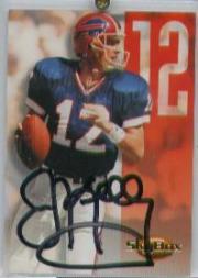 1994 SkyBox Premium Quarterback Autographs #2 Jim Kelly