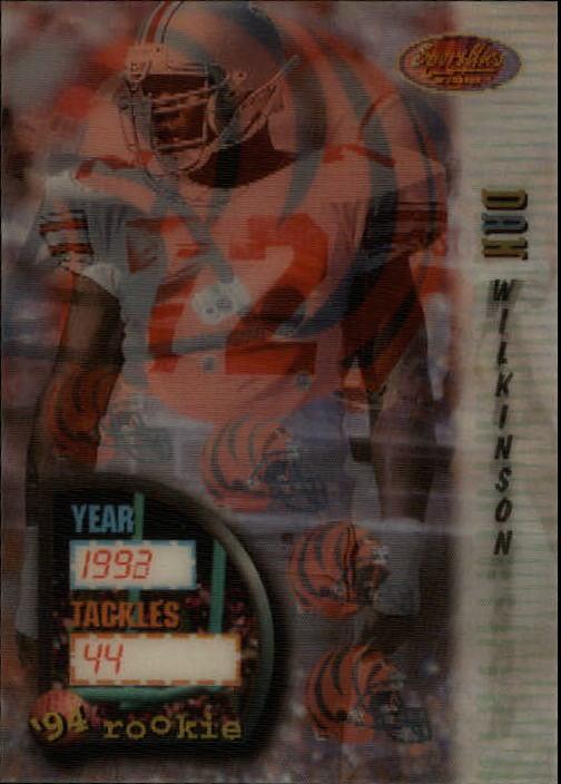 1994 Sportflics #146 Dan Wilkinson RC