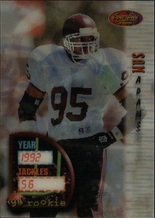 1994 Sportflics #156 Sam Adams RC