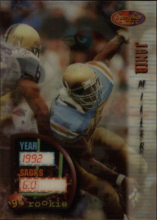 1994 Sportflics #161 Jamir Miller RC