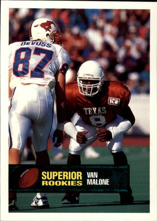 1994 Superior Rookies #8 Van Malone
