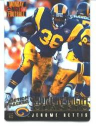 1995 Action Packed Monday Night Football Highlights #123 Jerome Bettis C