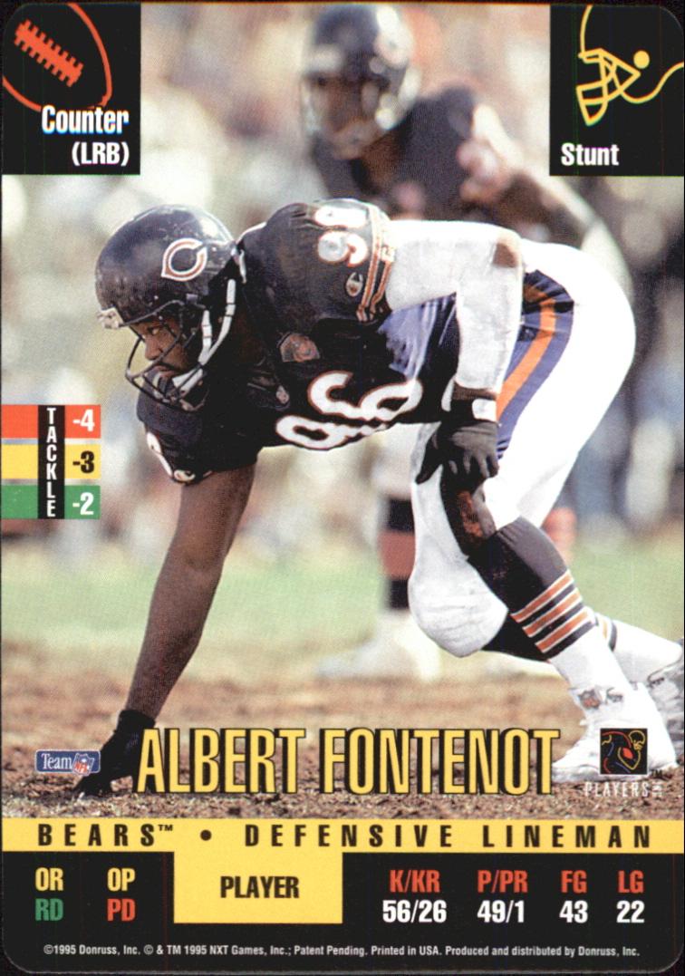 1995 Donruss Red Zone #36 Al Fontenot DP