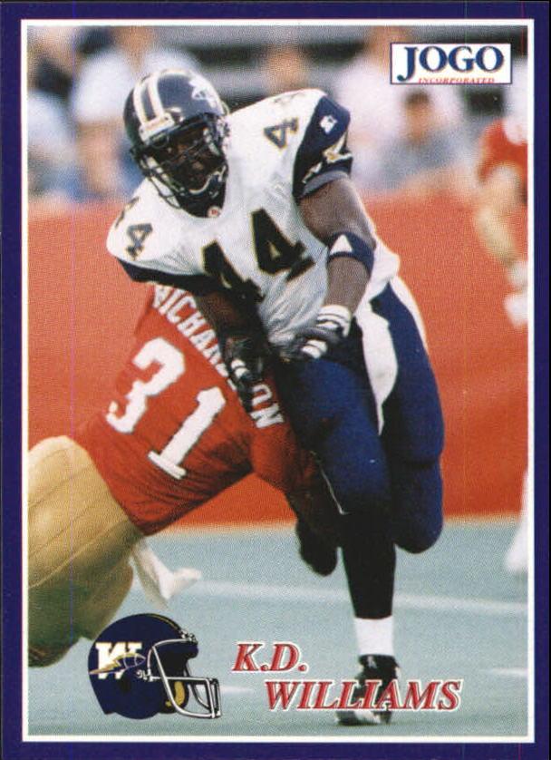 1995 JOGO #106 K.D. Williams