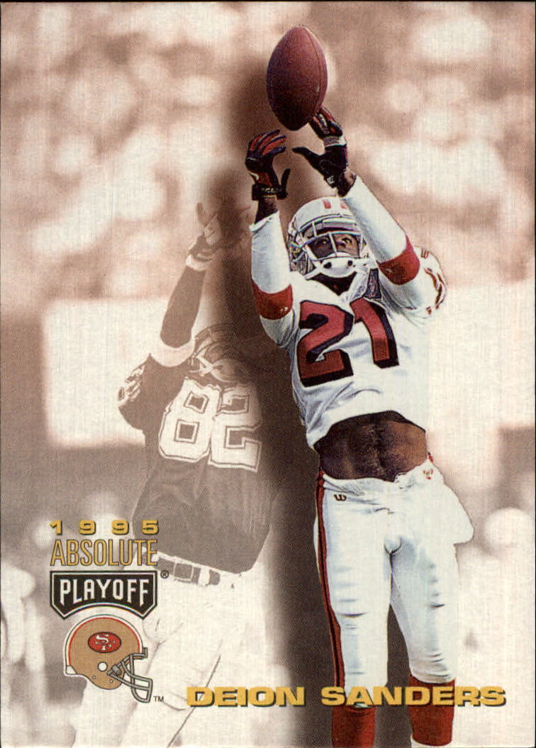 1995 Absolute #4 Deion Sanders
