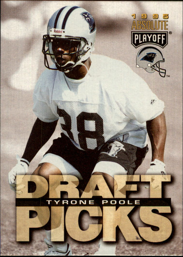 1995 Absolute #179 Tyrone Poole RC