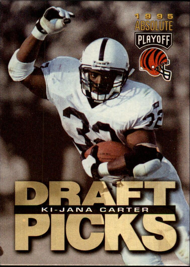 1995 Absolute #181 Ki-Jana Carter RC