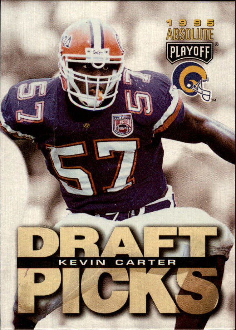 1995 Absolute #185 Kevin Carter RC