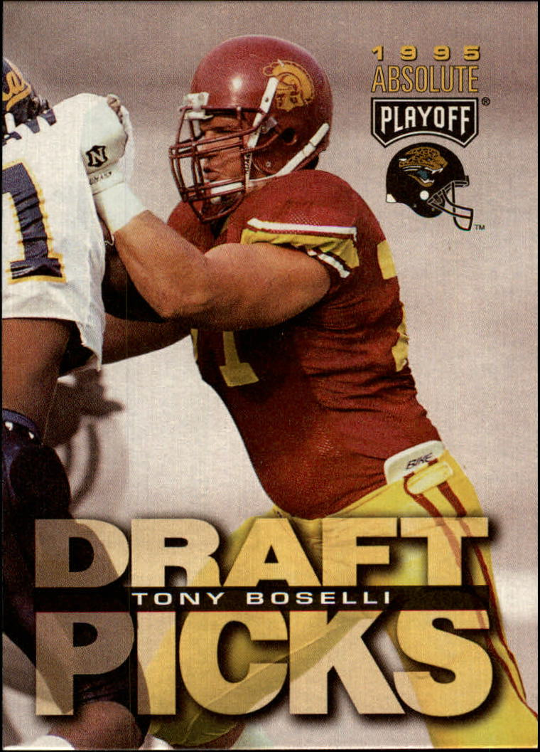 1995 Absolute #186 Tony Boselli RC