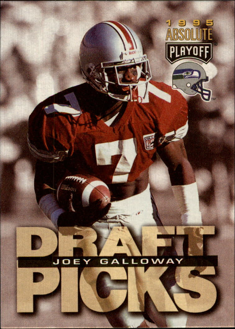 1995 Absolute #187 Joey Galloway RC