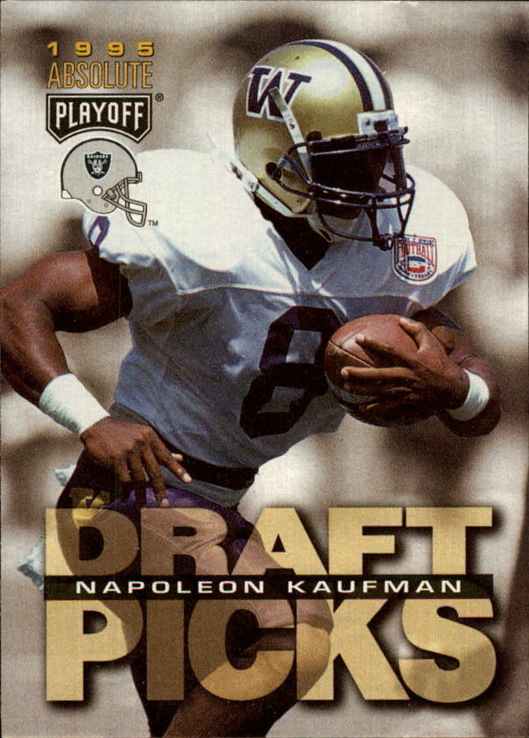 1995 Absolute #192 Napoleon Kaufman RC