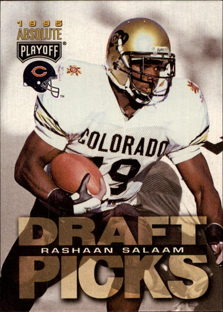 1995 Absolute #194 Rashaan Salaam RC