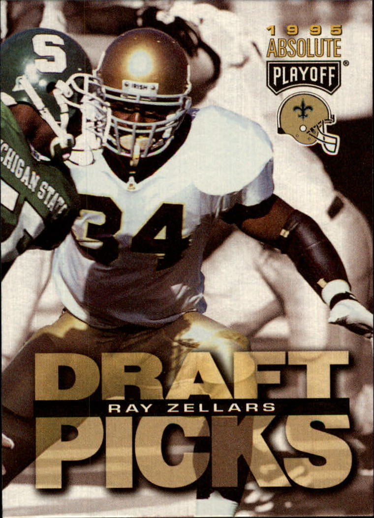 1995 Absolute #195 Ray Zellars RC