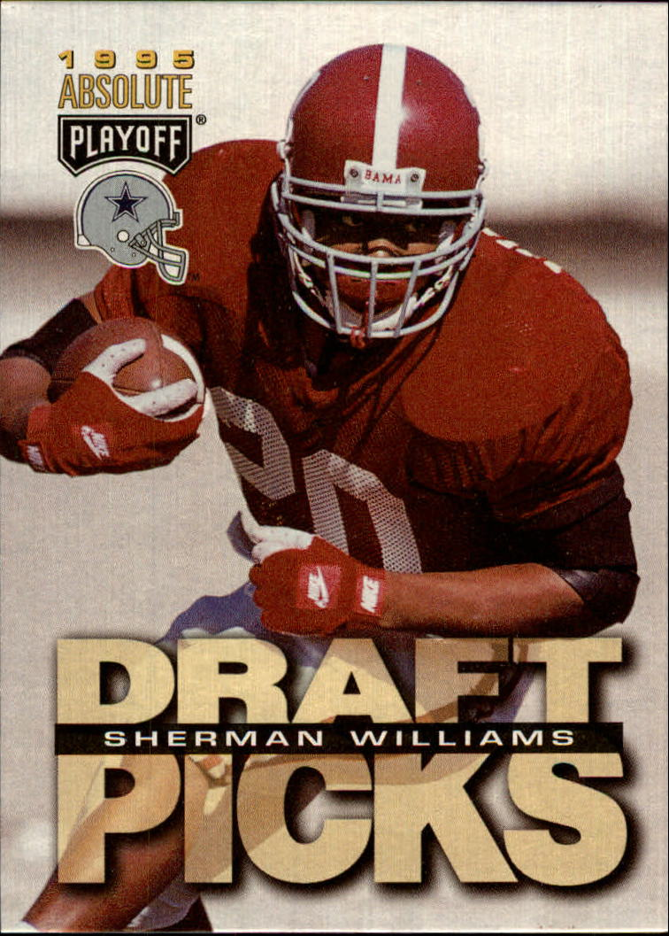 1995 Absolute #197 Sherman Williams RC