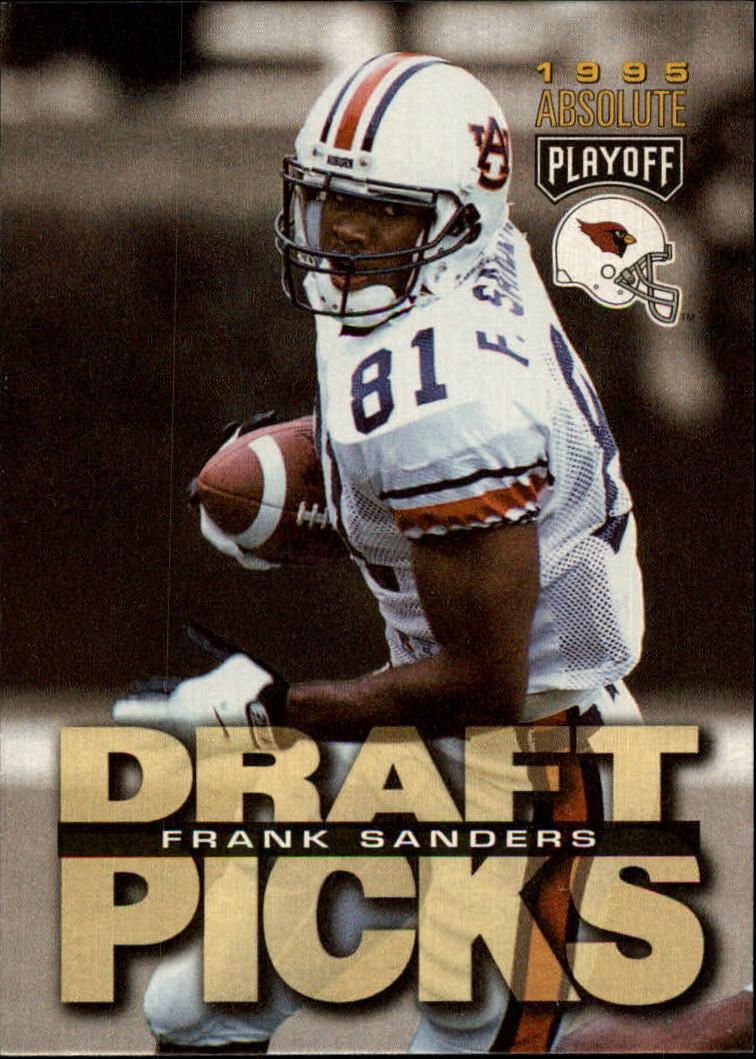 1995 Absolute #198 Frank Sanders RC