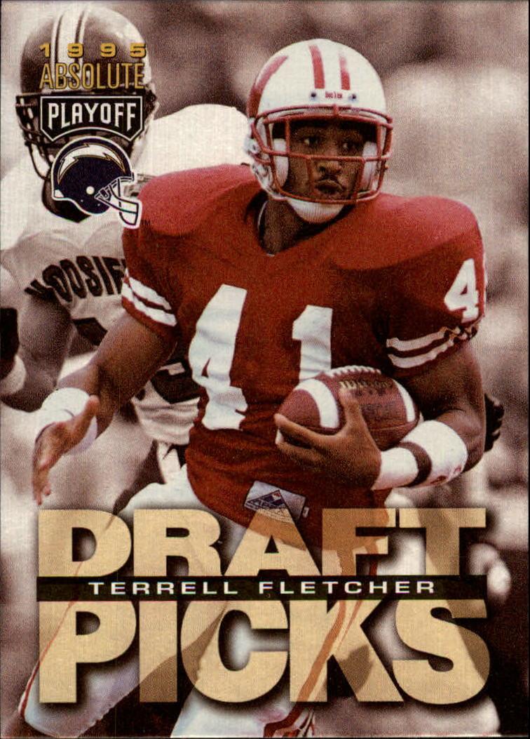 1995 Absolute #199 Terrell Fletcher RC