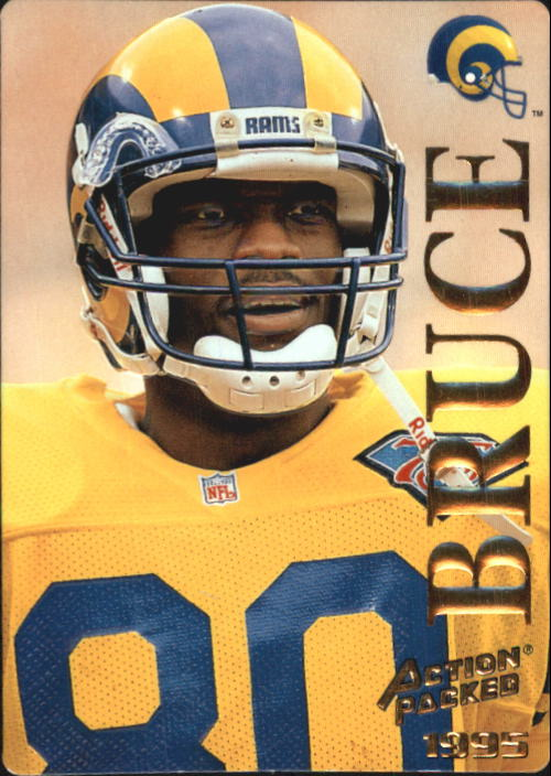 1995 Action Packed #94 Isaac Bruce
