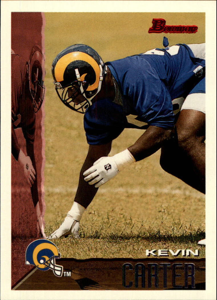 1995 Bowman #6 Kevin Carter RC