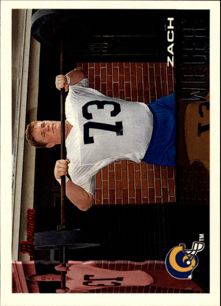 1995 Bowman #320 Zach Wiegert RC