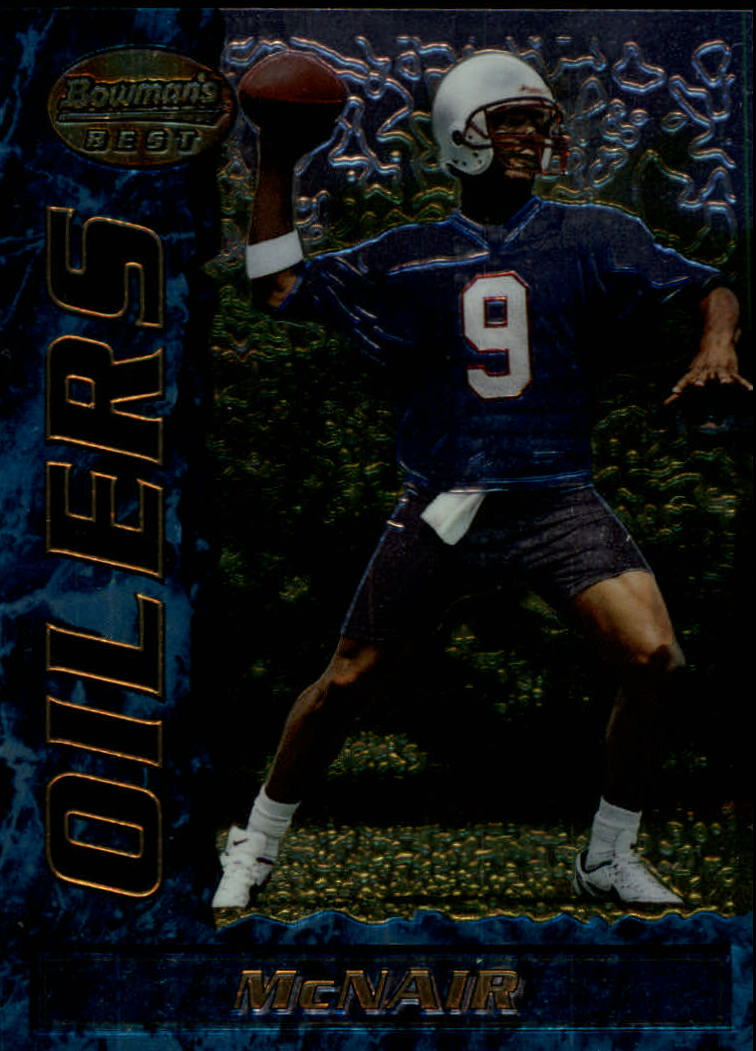 1995 Bowman's Best #R3 Steve McNair RC
